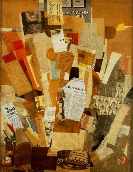 collage by Kurt Schwitters