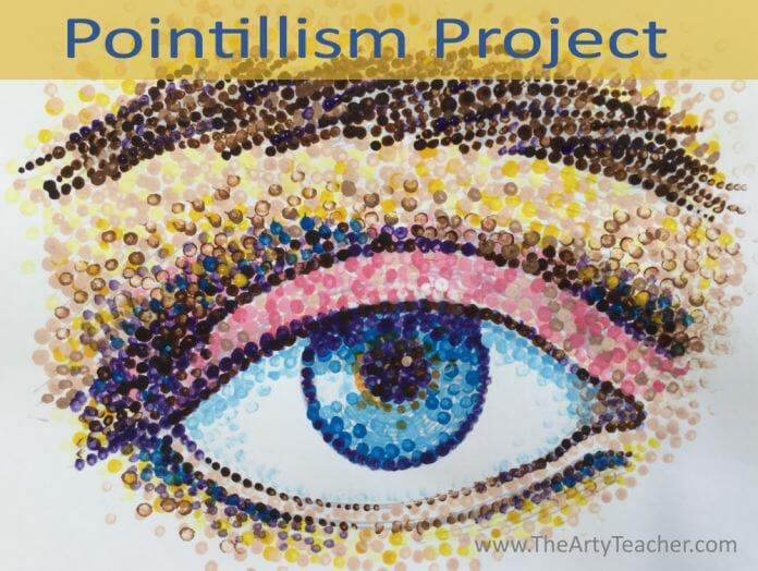 pointillism art project