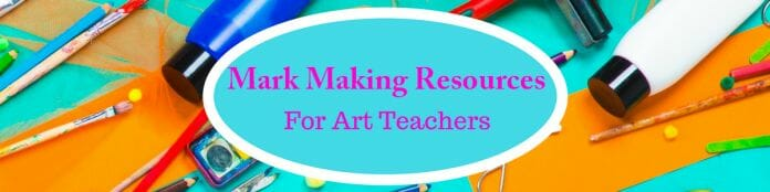 Mark Making Resources for Art Teachers