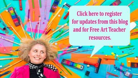 Register on The Arty Teacher