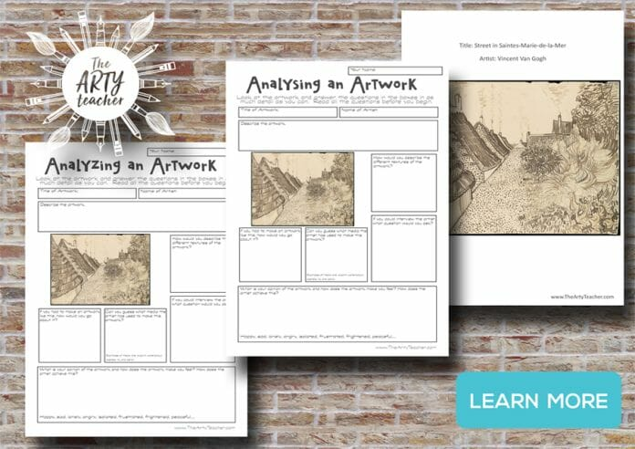 Van Gogh Resources for Art Teachers