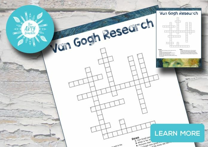 Van Gogh Crossword