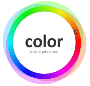 color wheel color game