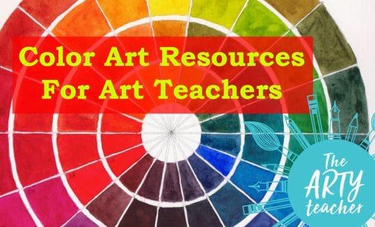 Color Art Resources for Art Teachers