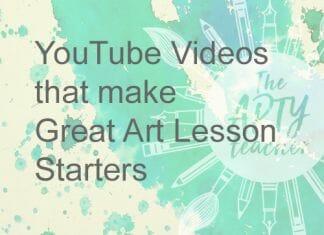 art lesson starters