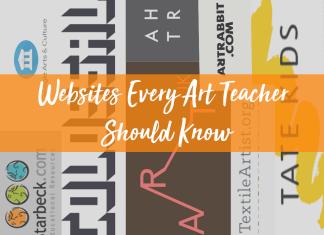 websites every art teacher should know