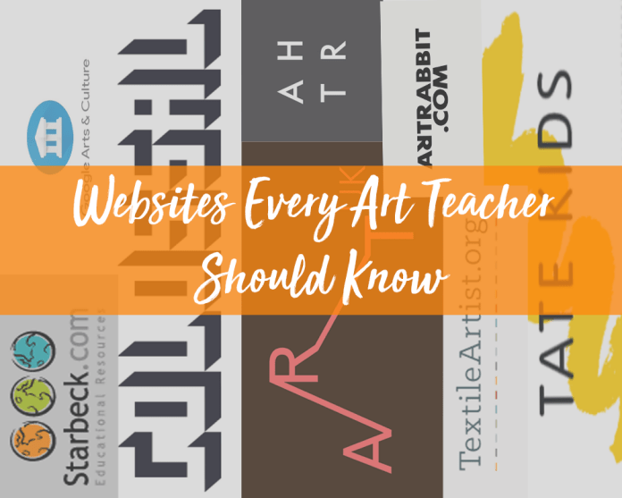 websites every art teacher should know