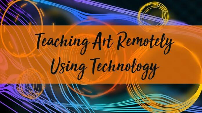 Art Home Learning using teachnology