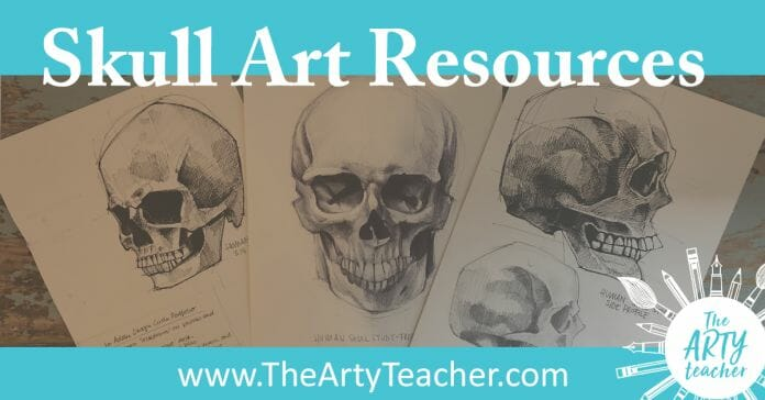 skull art resources