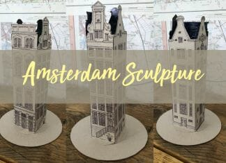 Amsterdam Building Sculpture