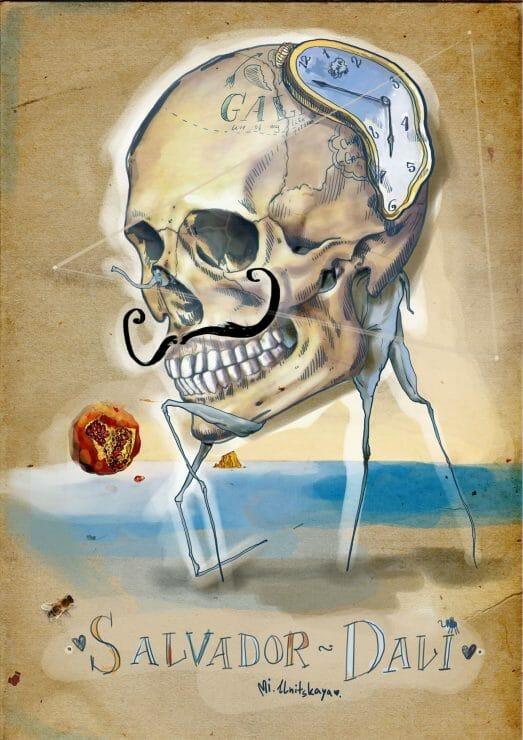 Drawing Skulls