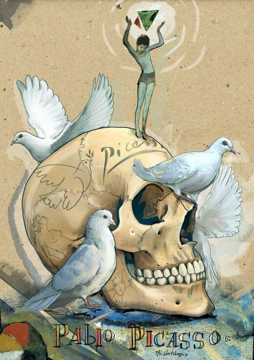 skull art lessons