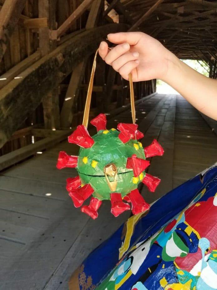 coronavirus handbag