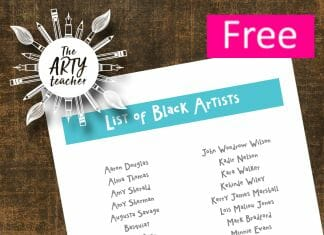 A List of Black Artists
