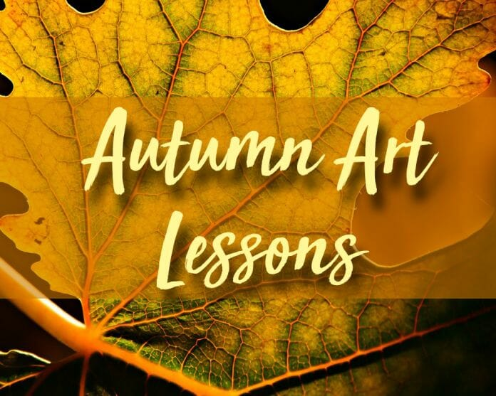 Autumn Art Lessons