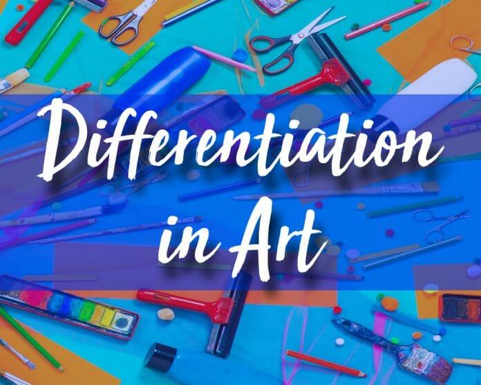 Differentiation in Art