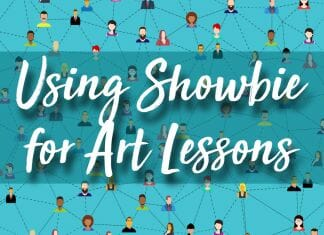 using showbie in art lessons