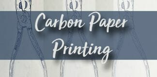 How to Print with Carbon Paper