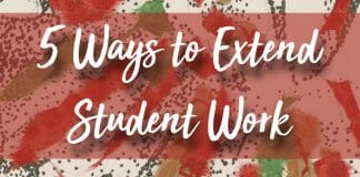Ways to Extend Student Work