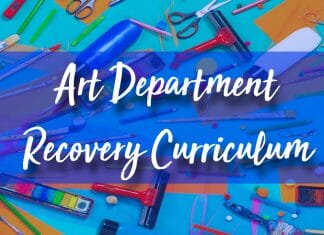 art department recovery curriculum