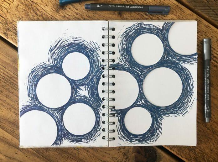 Metalic Brush Pens Silver