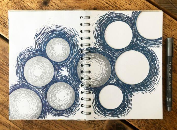Circles with Mark Making
