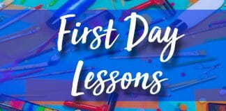 Fun Art Lessons for the First Day