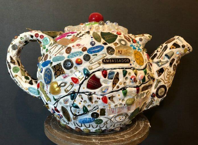 Memory Teapot inspired by Memory Jugs