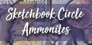 Sketchbook Circle Ammonites