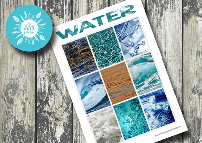 Drawing Water Art Resource