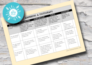 Assessing a Photograph rubric
