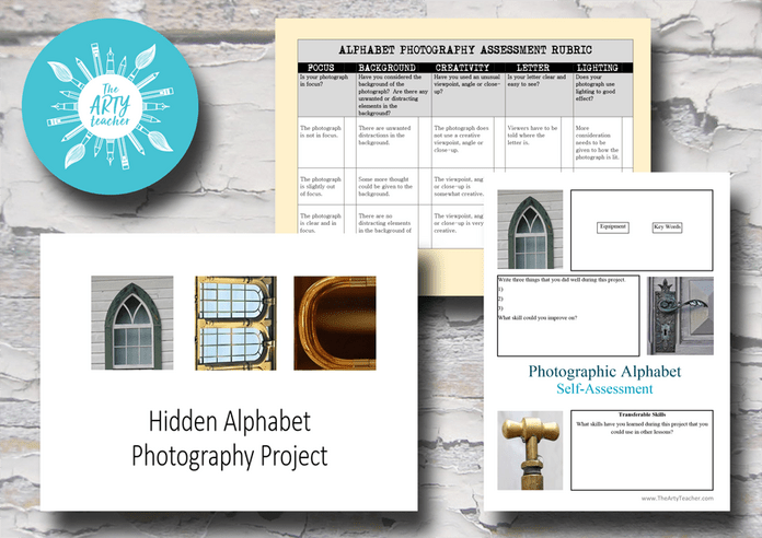 Hidden Alphabet Photography Project
