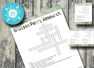 Grayson Perry Crossword