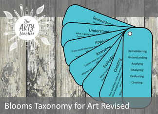Blooms Taxonomy for Art Revised