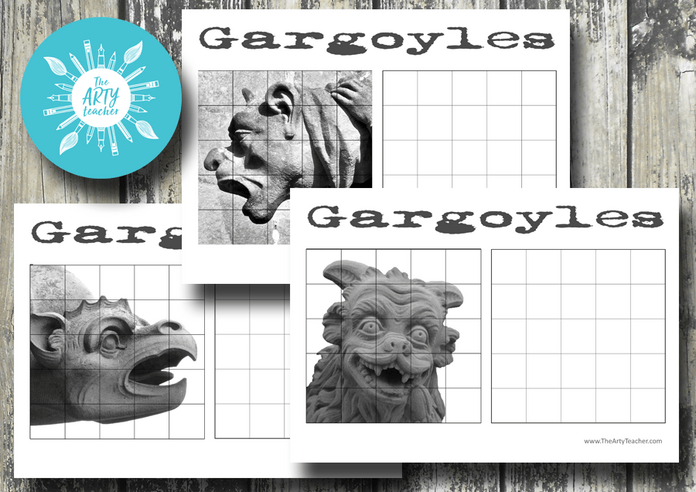 Gargoyle Grid Drawings