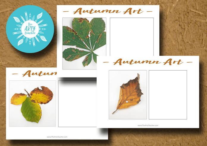 Autumn Leaves Art Lesson
