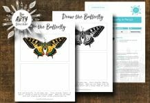 Draw the Butterfly