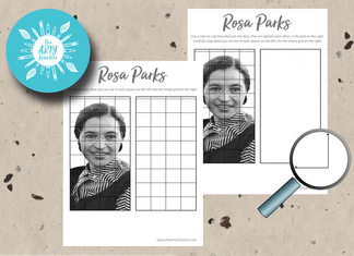 Rosa Parks Grid Drawing