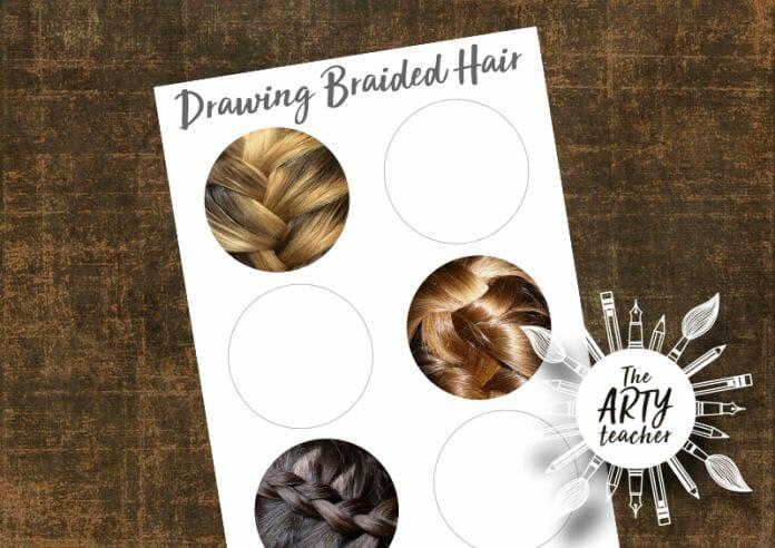 Drawing Braids in Circles