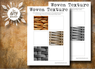 Woven Texture to Draw