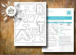 Art Lettering Cover/Sub Lesson