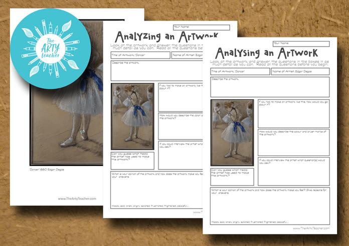 Analysing an Artwork - Edgar Degas
