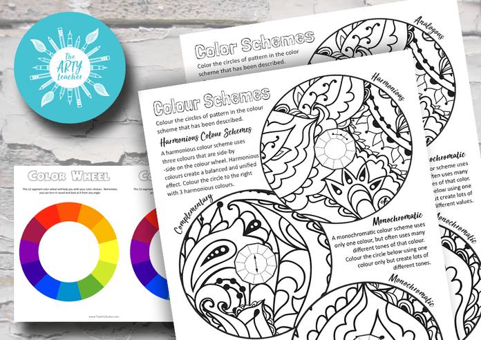 Colour Schemes Art Lesson