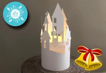 Christmas Paper Sculpture