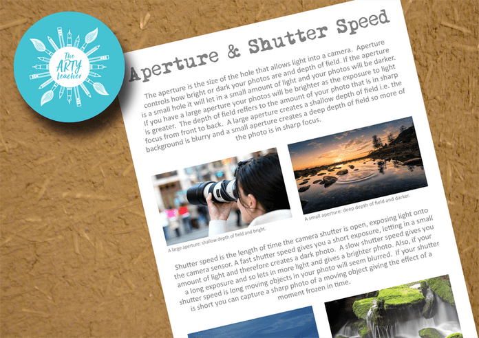 Aperture and Shutter Speed Explained