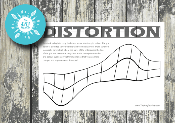 Distortion Grid Drawing