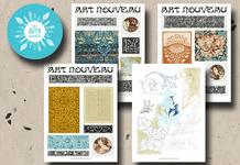 Art Nouveau Patterns
