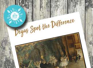 Degas Spot the Difference