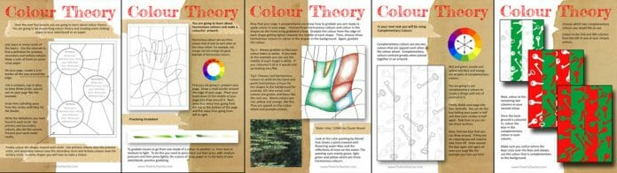 Colour Theory Distance Learning