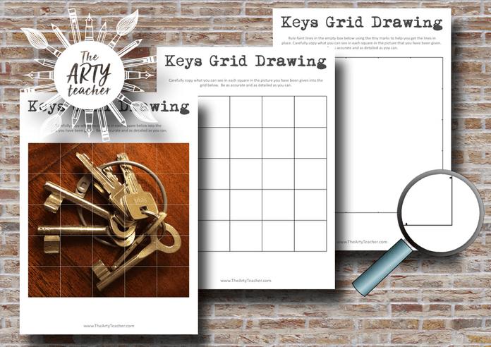 Keys Grid Drawing